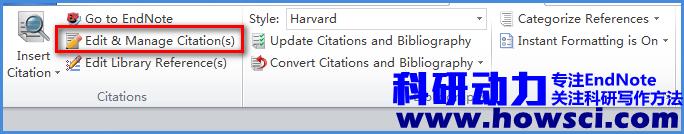 EndNote插入同一作者不同年代文献显示为(Author, year1, year2 )格式怎么破
