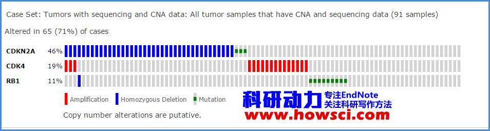 使用cBio Cancer Genomics Portal综合分析癌症基因和临床资料