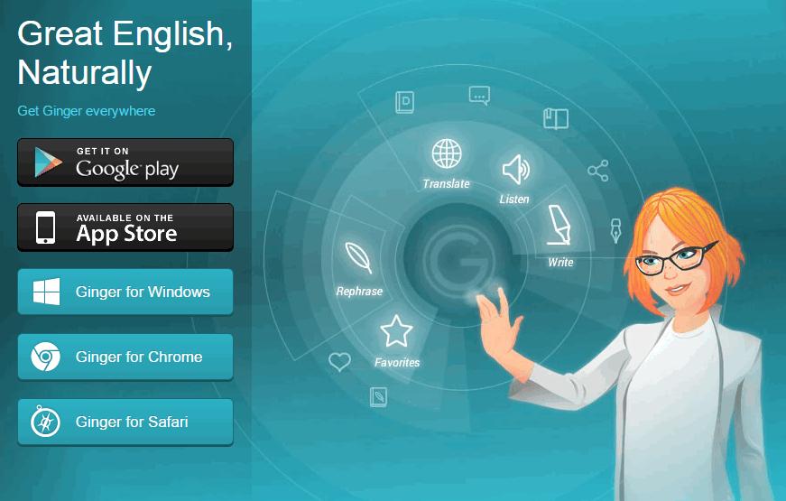英文写作辅助软件Ginger