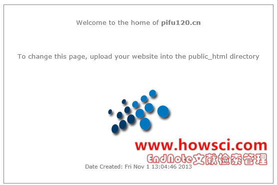 WordPress安装出现upload your website into the public_html directory
