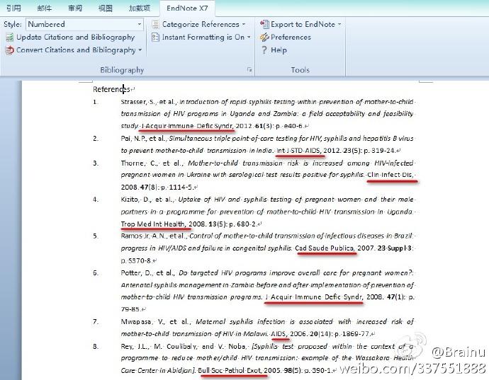 EndNote将文献期刊名称缩写修改为全称